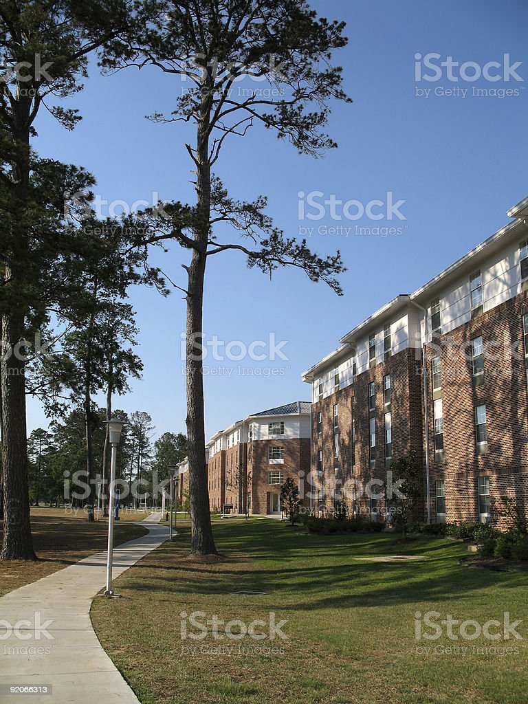 College Dormitory royalty-free stock photo