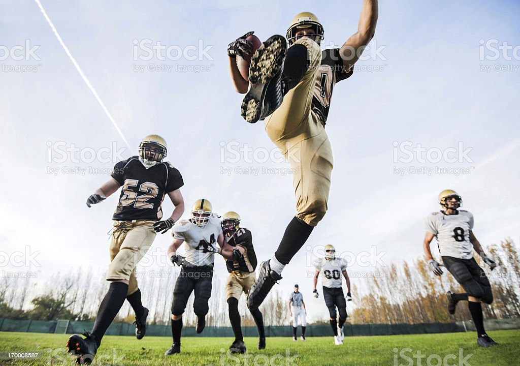 College Football. royalty-free stock photo