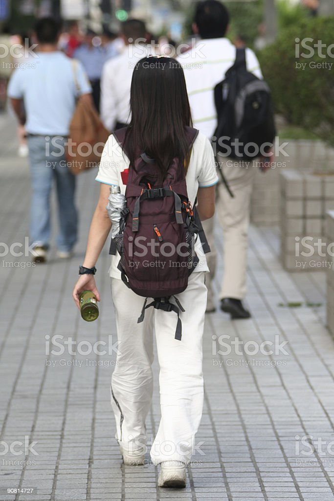 College girl royalty-free stock photo