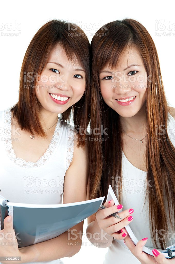College Girls royalty-free stock photo