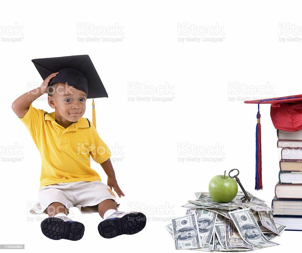 College Money royalty-free stock photo