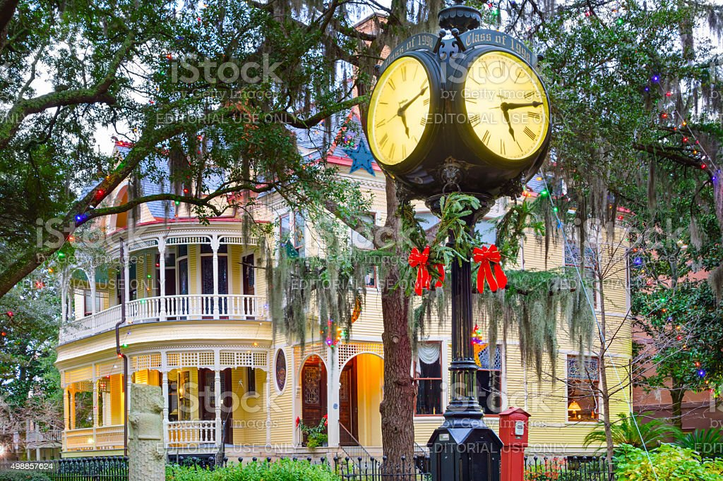 College of Charleston South Carolina USA stock photo