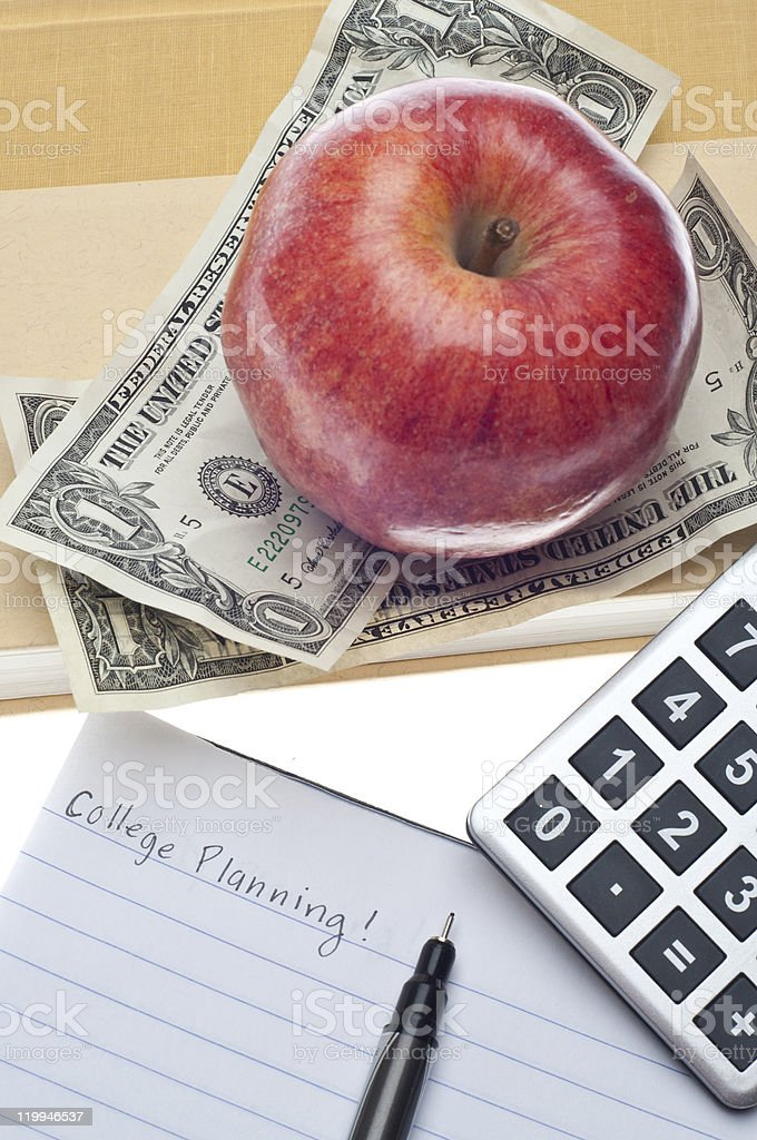 College Planning royalty-free stock photo