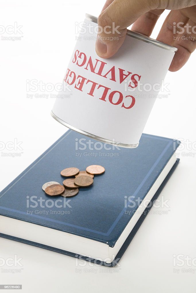 College Savings stock photo