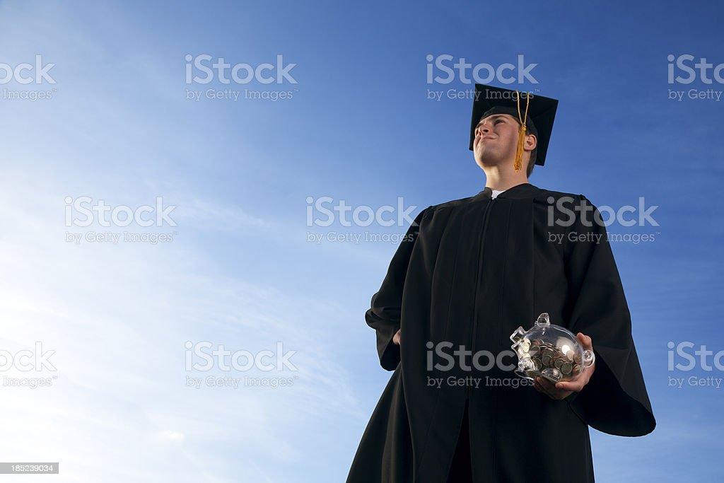 College Savings Plan royalty-free stock photo