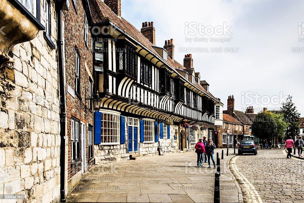 College Street in York stock photo