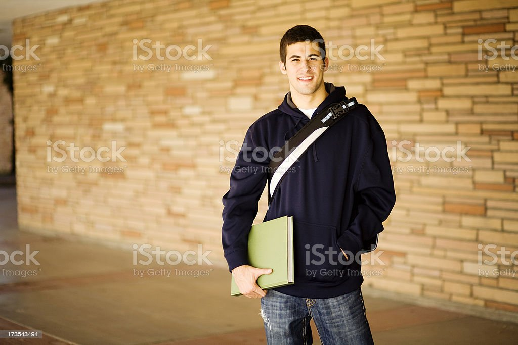 College Student royalty-free stock photo