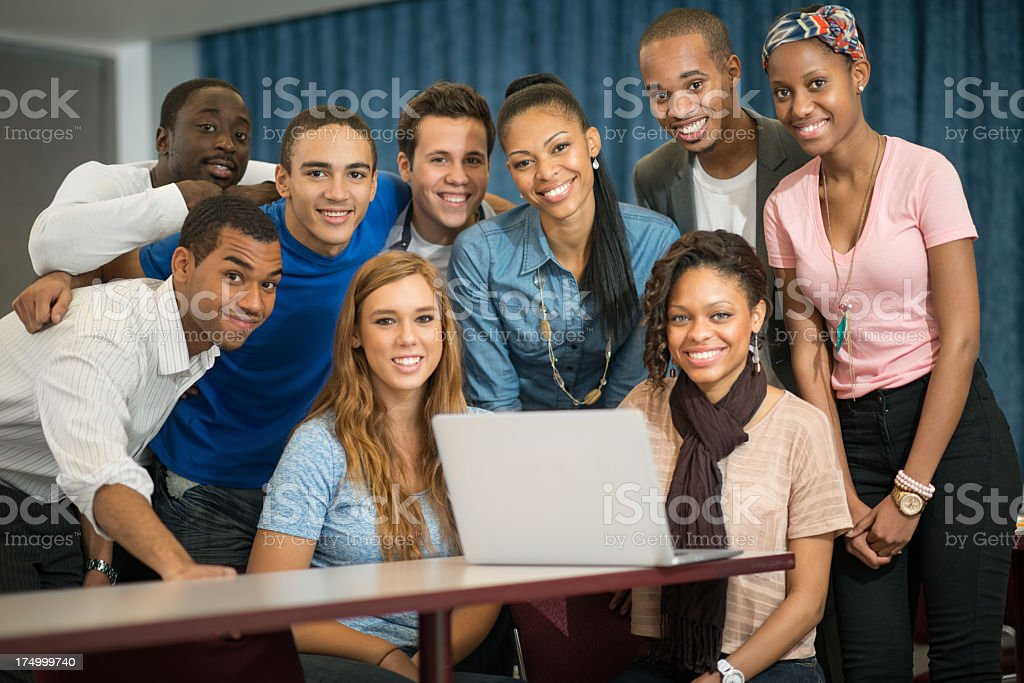 College students. royalty-free stock photo