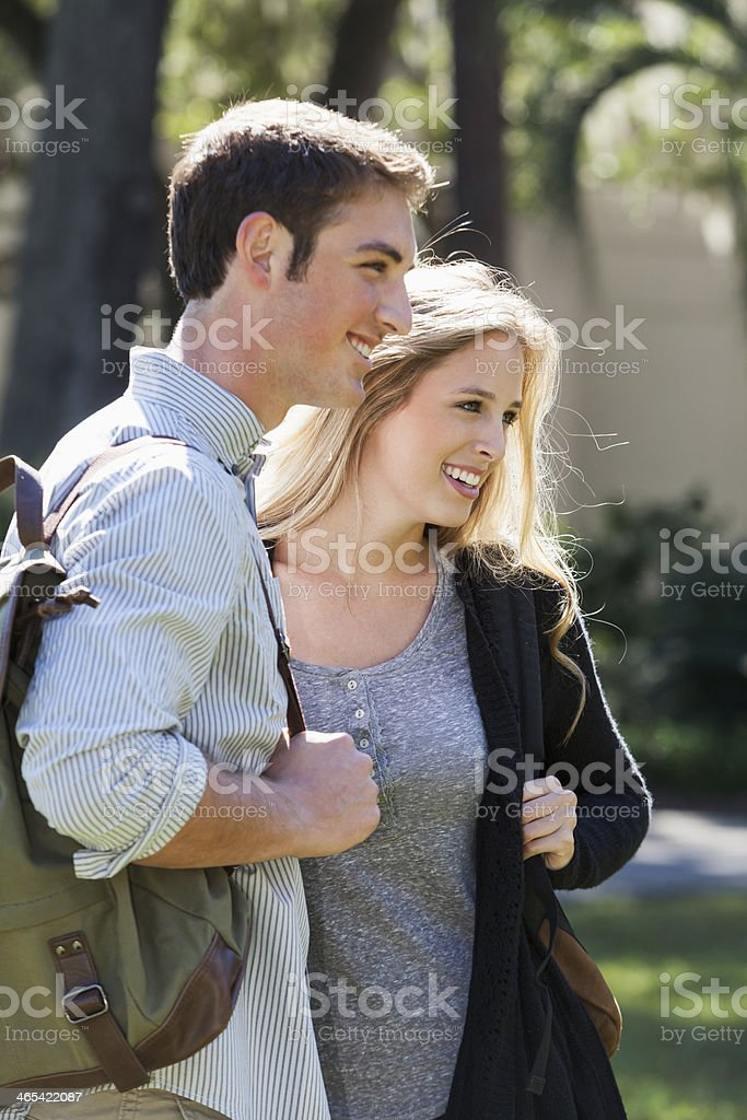 College students royalty-free stock photo
