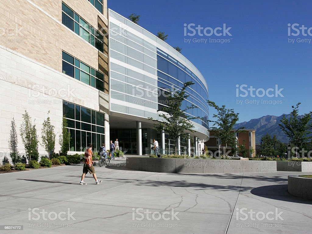 College / University Campus stock photo