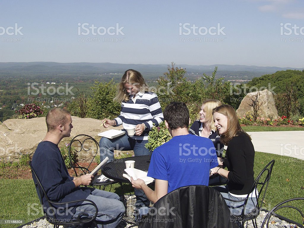 College View royalty-free stock photo