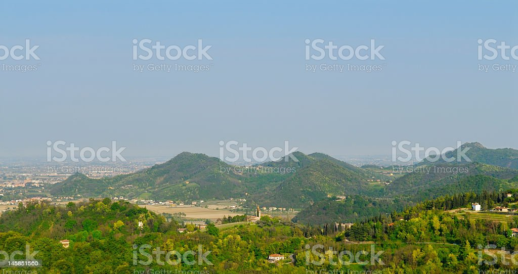 Colli Euganei (Padua - Italy) royalty-free stock photo