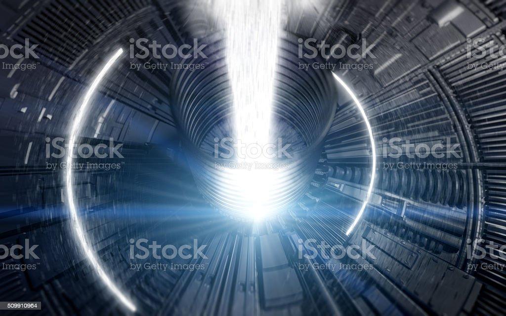 Collider Background stock photo