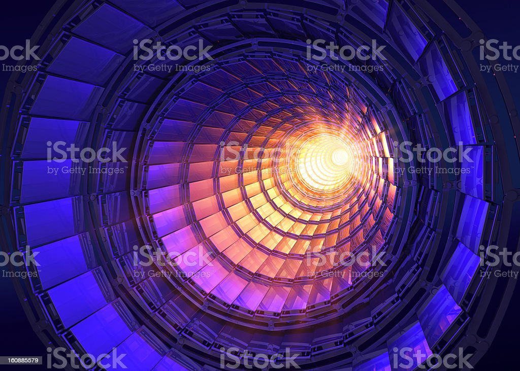 Collider royalty-free stock photo