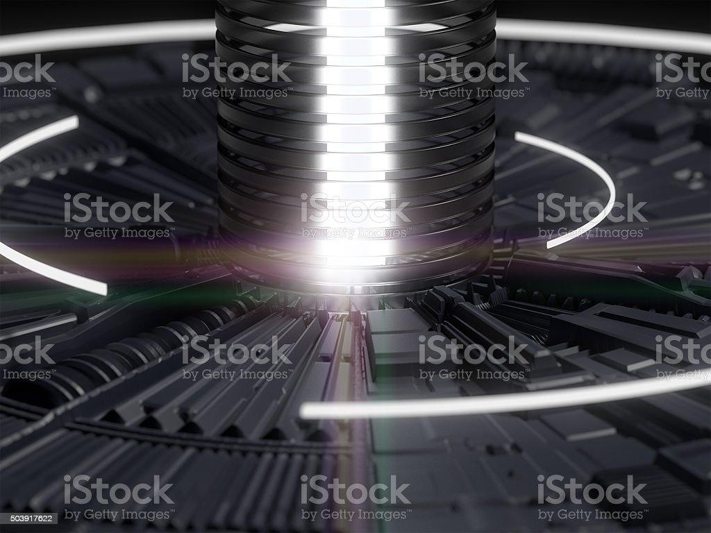 Collider stock photo