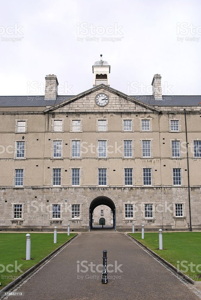 Collins Barracks stock photo