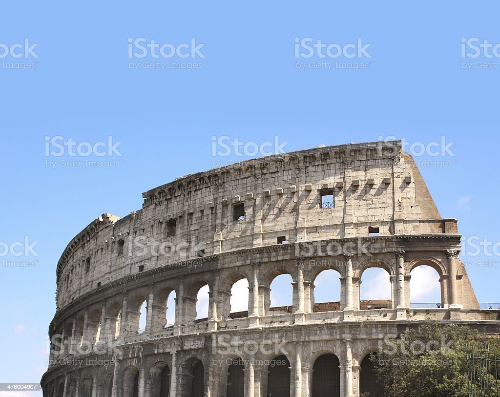 Collosseo royalty-free stock photo