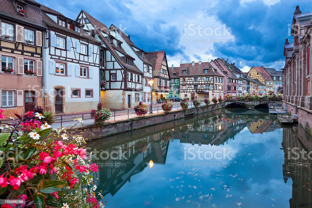 Colmar, Alsace, France stock photo