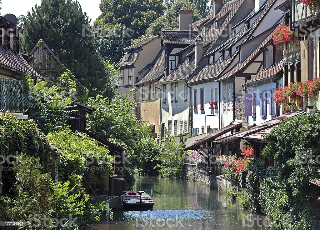 Colmar, Alsace stock photo