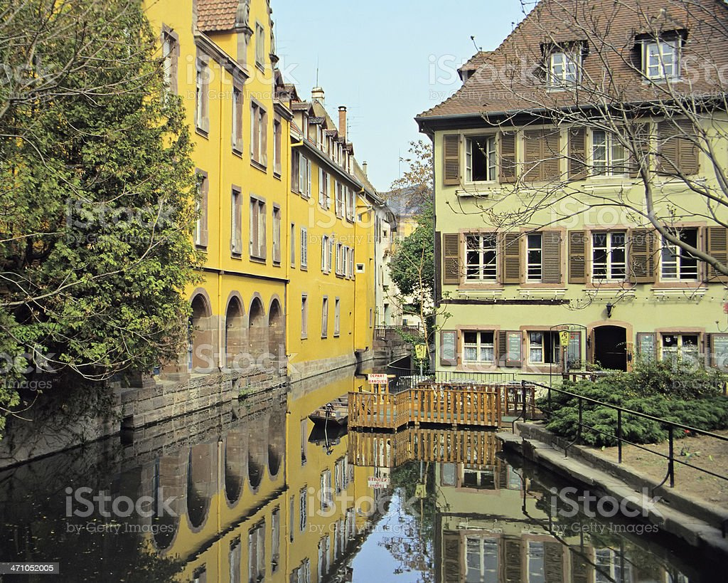 Colmar Architecture royalty-free stock photo