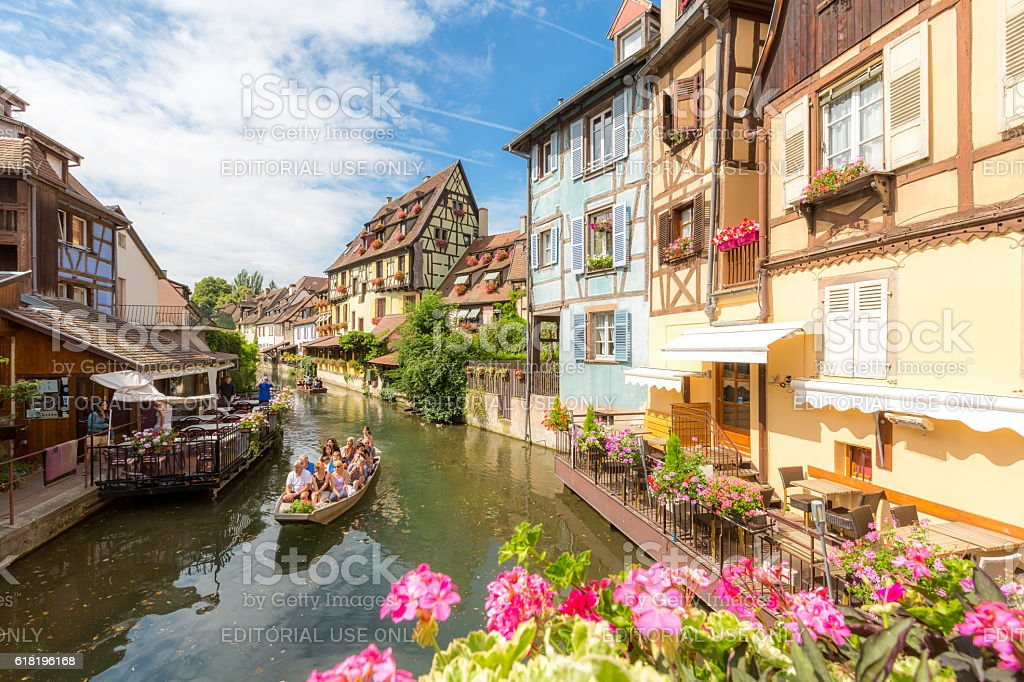 Colmar France stock photo