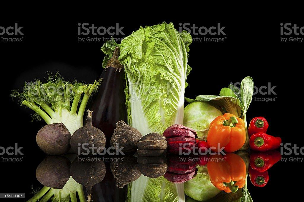 Colofrul vegetable variaton. royalty-free stock photo