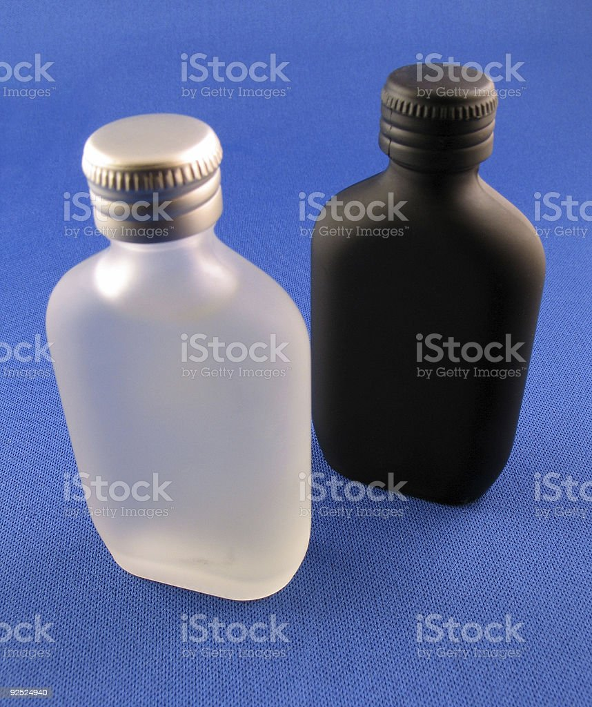 Cologne Bottles royalty-free stock photo