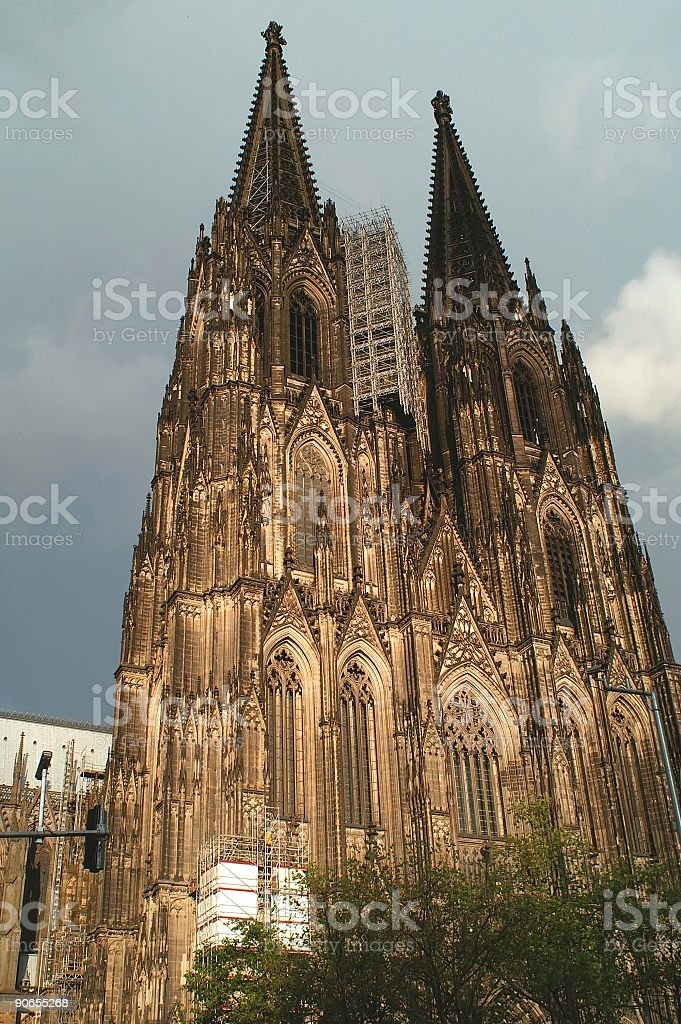 Cologne cathedral 5 stock photo