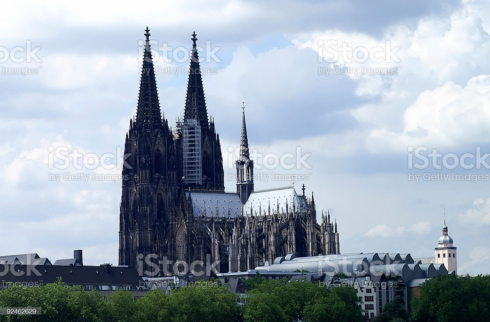 Cologne cathedral 6 royalty-free stock photo
