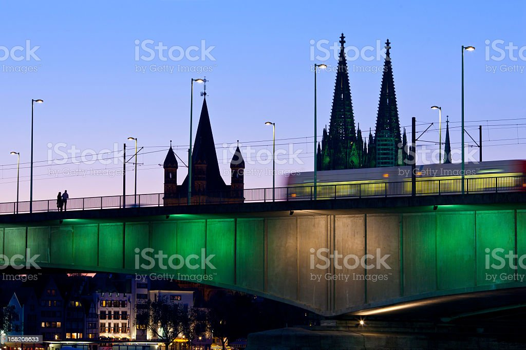 Cologne Cathedral, Germany royalty-free stock photo