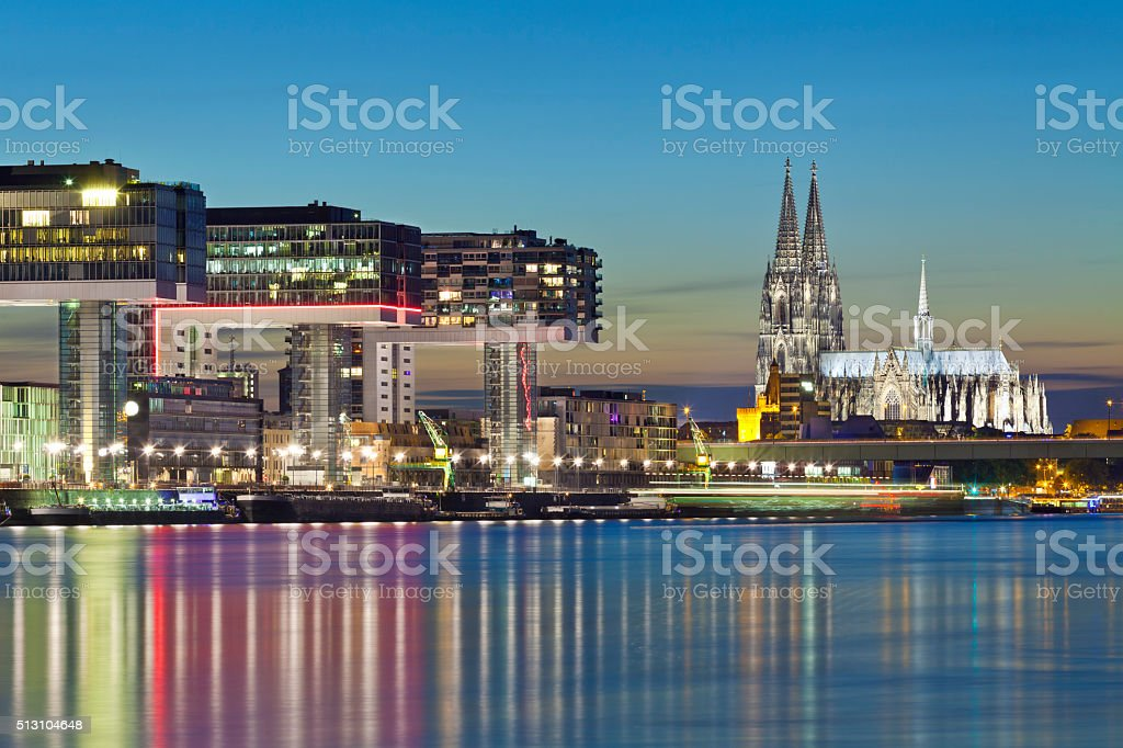 Cologne Cathedral, Germany stock photo