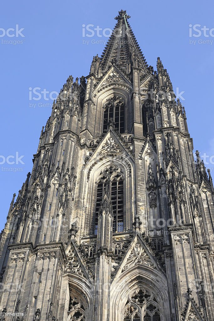 Cologne Cathedral royalty-free stock photo
