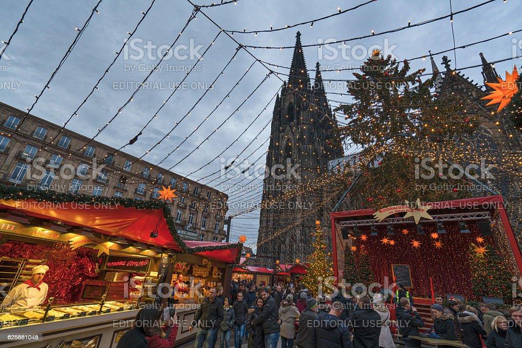 Cologne - Christmas stock photo
