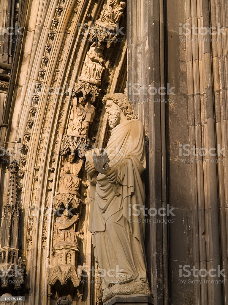 Cologne Dom Saint Full View royalty-free stock photo