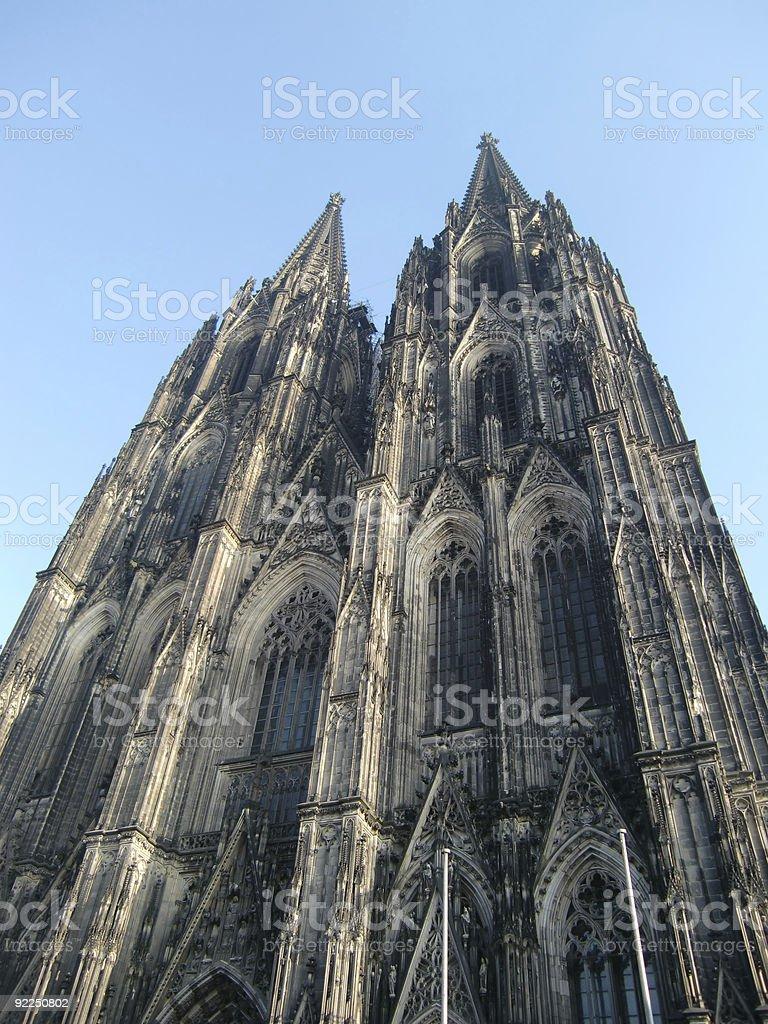 Cologne Dome stock photo