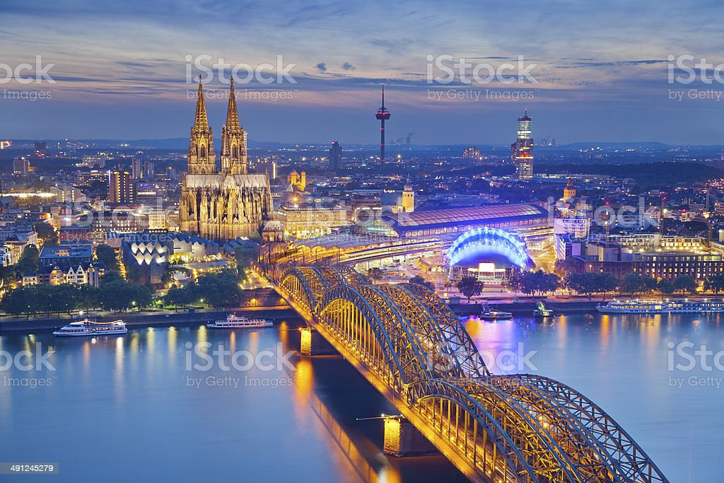 Cologne, Germany. stock photo