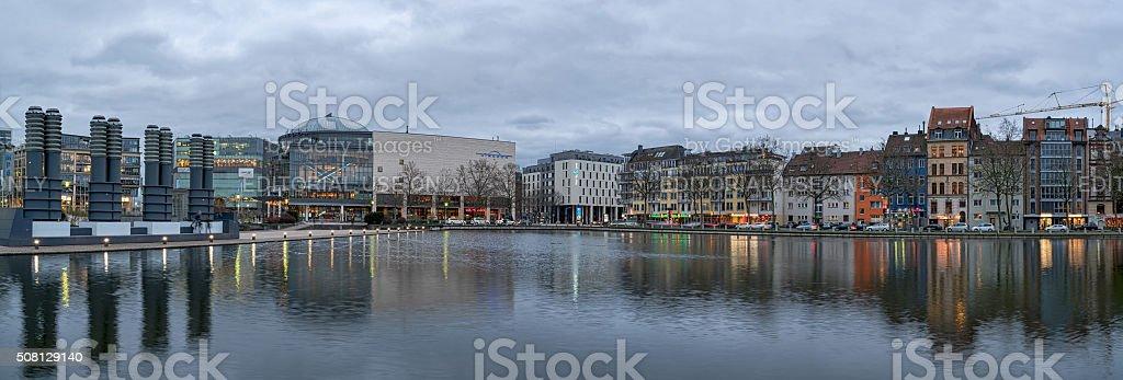 Cologne Mediapark stock photo