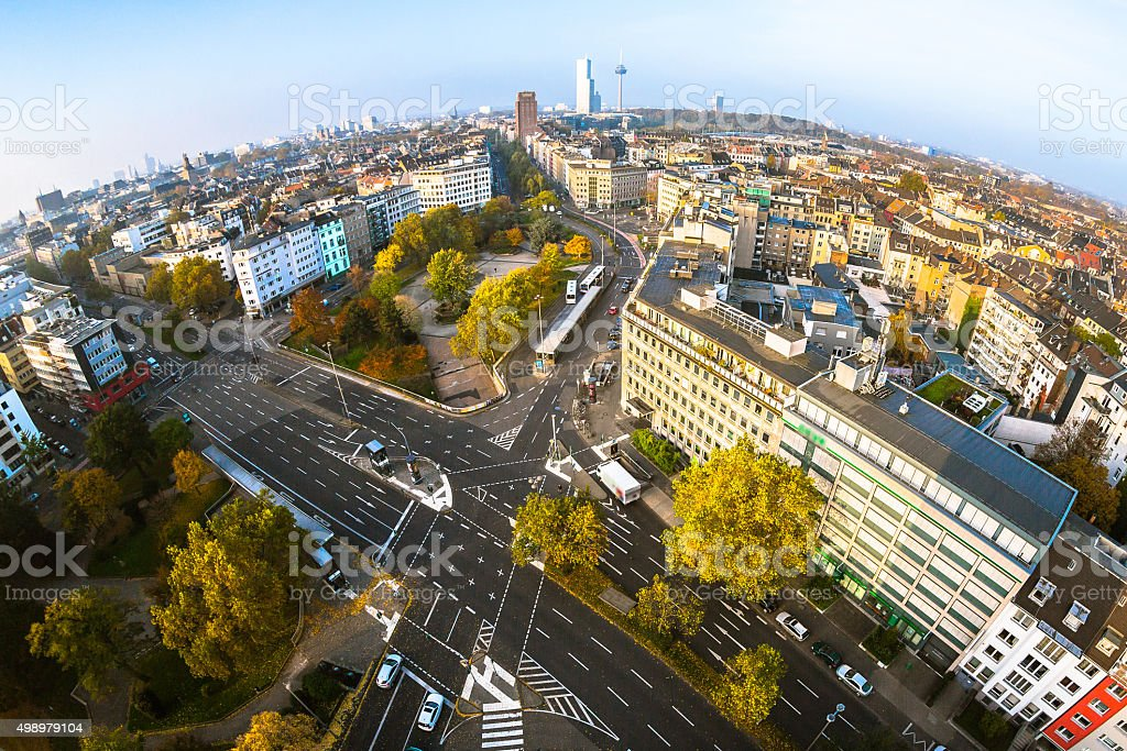 Cologne Panorama stock photo