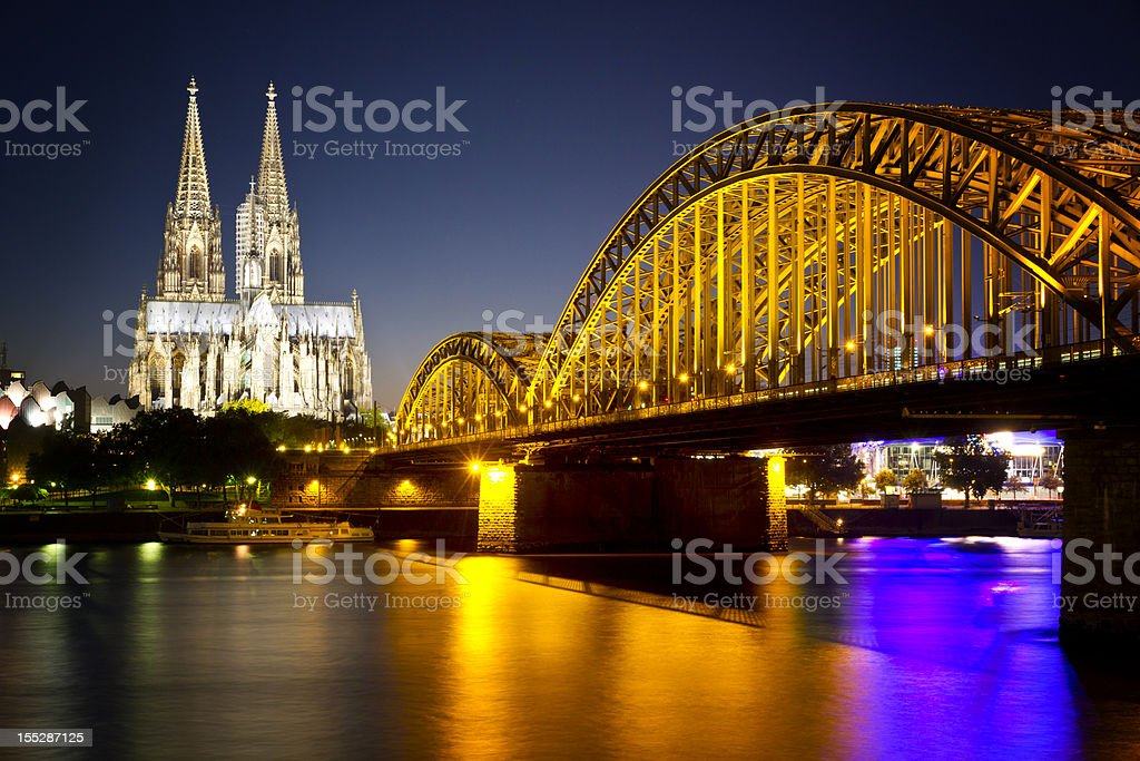 Cologne royalty-free stock photo