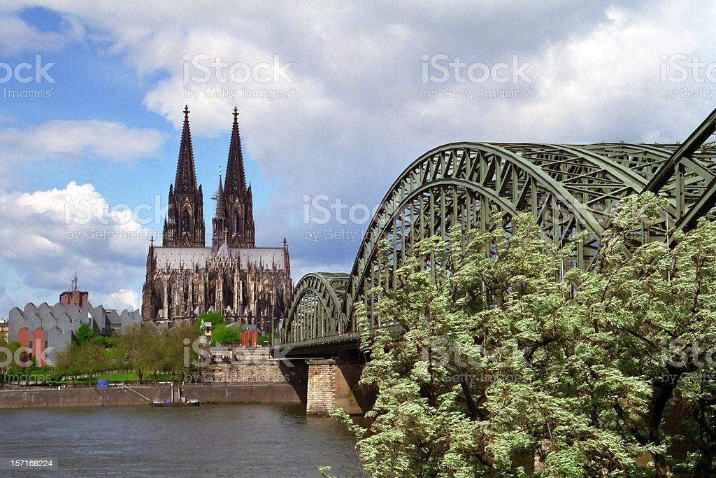 Cologne stock photo