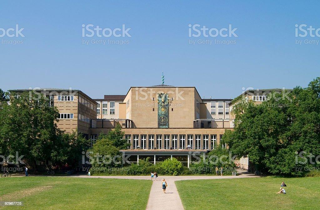 Cologne University stock photo