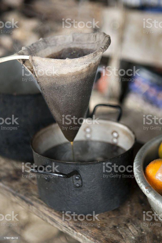 Coloian Coffee royalty-free stock photo
