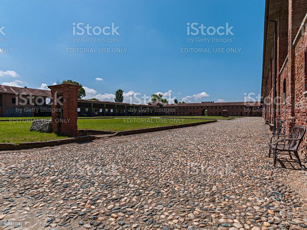 'Colombara' farm in Livorno Ferraris, Italy stock photo