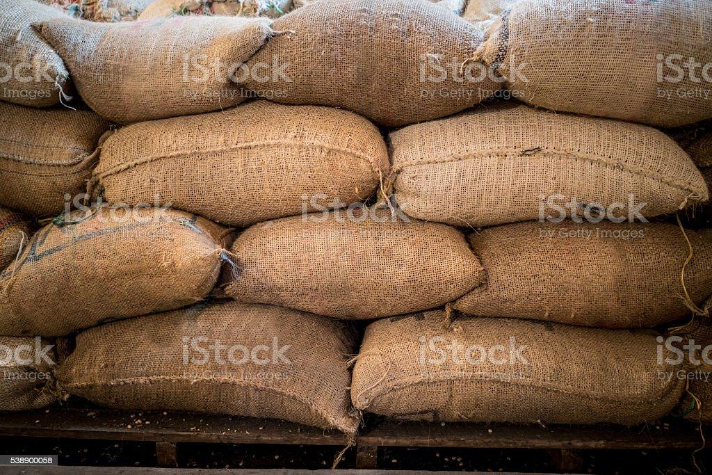 Colombian coffee stock photo