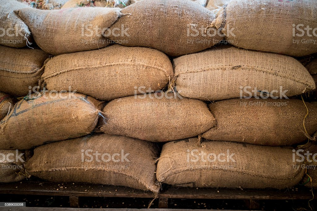 Colombian coffee stock photo