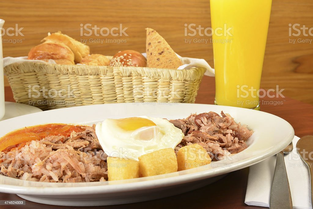Colombian cuisine. Series see more..... stock photo