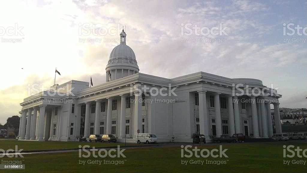 Colombo City Council Town Hall stock photo