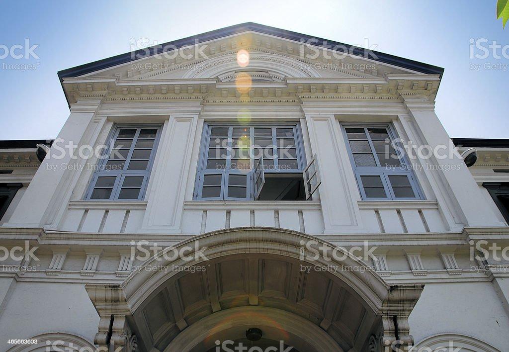 Colombo, Sri Lanka: British colonial architecture royalty-free stock photo