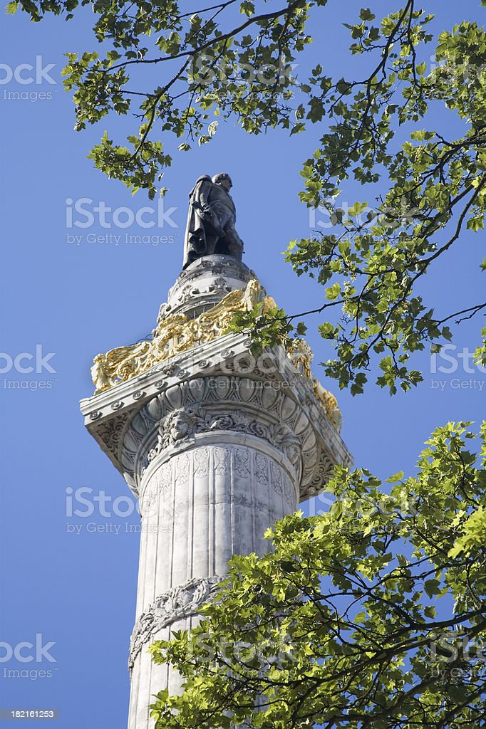 Colon of the Congress, Brussels stock photo