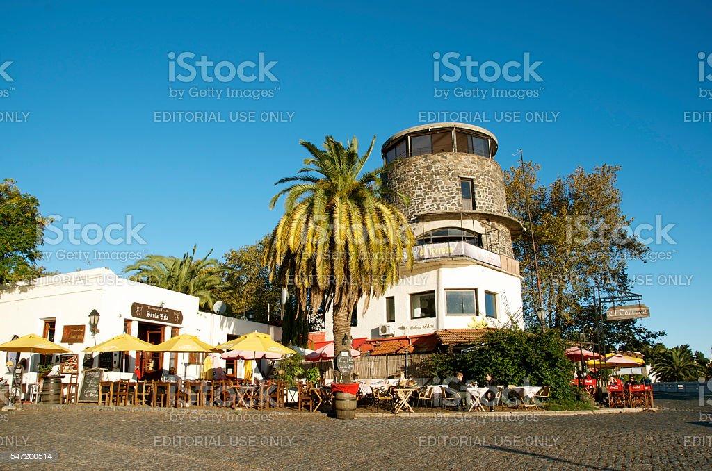 Colonia del Sacramento stock photo
